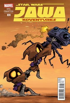 """""""Jawa Adventures"""" is a comic series that doesn't exist… yet! But if you'd like to see a series like this on the comic shop stands, if you want to help make it a realit..."""