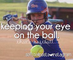 Softball.... super cute