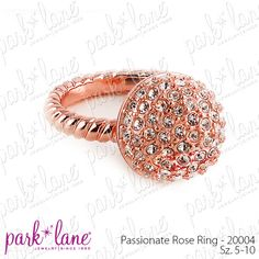 Passionate Rose Ring - Personally, I'm not a big ring person ... but I do wear and enjoy wearing this ring. And it always gets positive attention, especially when I'm signing a credit card receipt at the store while doing errands as a stay-at-home-mom! What SAHM doesn't like those little compliments during her busy day? :-)