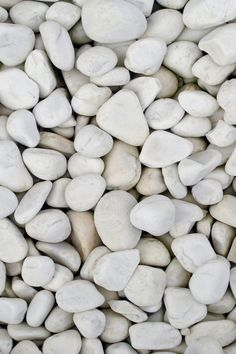↑↑TAP AND GET THE FREE APP! Unicolor Stones White Minimalistic Simple Beach Shore HD iPhone 4 Wallpaper