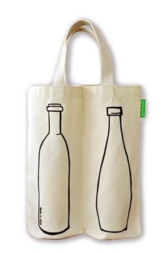 What's better than one bottle of wine?Safely tote your bottles in our award winning Two Bottle Bag. Our exclusive Two Bottle Bag design fits two bo. Wine Tote Bag, Wine Bags, Bottle Bag, Fabric Bags, Reusable Bags, Handbags Online, Canvas Tote Bags, Purses And Bags, Creations