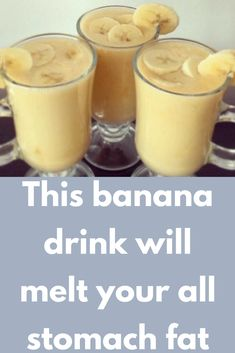 This banana drink melts your entire stomach fat. Ingredients: 1 banana 1 orange ½ cup low-fat or fat Breakfast Smoothies For Weight Loss, Weight Loss Smoothies, Healthy Smoothies, Healthy Drinks, Smoothie Recipes, Low Calorie Smoothies, Weight Loss Drinks, Healthy Recipes, Stomach Fat Burning Foods