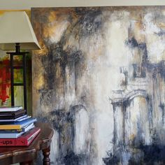 """Contemporary paintings by Sharon W Huget (@sharonwhuget) on Instagram: """"Echoing Arches, 60 x48 still at home before packing it up for the next installation of the FV Biennale"""" Contemporary Paintings, Arches, Packing, Instagram, Home, Art, Bag Packaging, Art Background, Ad Home"""