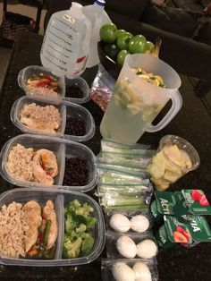 Meal prep for the week, snack recipes, diet recipes, cooking recipes, healt Lunch Meal Prep, Healthy Meal Prep, Healthy Snacks, Healthy Eating, Clean Eating, Chicken Honey, Diet Recipes, Healthy Recipes, Snack Recipes