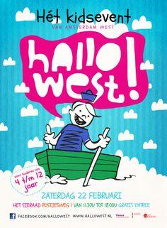 Hallo West - Het kidsevent van Amsterdam west - zaterag 22 februari