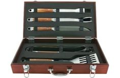 Rhino Spotting! Our handsome Forged 5-Piece Tool Set featuring a hand-crafted wooden case was ranked #3 in the Top 10 Best Barbecue Sets of 2016 on the Ezvid Wiki. Check it out!