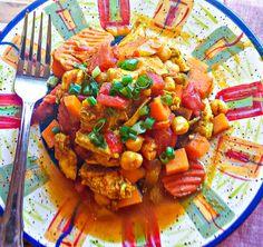 Slow Cooker Chicken Marakesh | Flavor Mosaic | #slowcooker #healthy