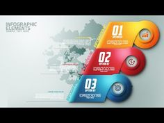 How To Create Modern Infographic Colorfull Options Banner In Photoshop - YouTube