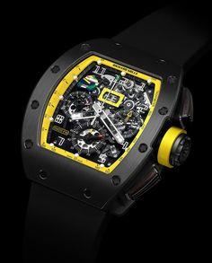 50fed883617 Richard Mille RM011 Felipe Massa Titanium Black DLC Grand Prix Brazil