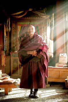 Monastère au Tibet