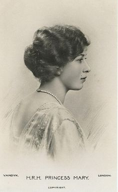 Princess Royal Mary, Viscountess Lascelles