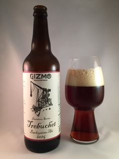 I don't know about you, but I'm a huge fan of medieval siege weapons. Few are as badass as the trebuchet. Gizmo Brew Works' 2015 iteration of their Trebuchet Barleywine has quite the name to live up to. I'm sure there's a simple scientific explanation for how a trebuchet works… but seriously… look at it… WTF. I applaud the madman that decided to build a 60 ft. tall slingshot on a stick.