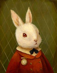 Emily Winfield Martin | Alice in Wonderland | The White Rabbit