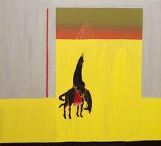 La pre y la post yakuza (2016) Oil on canvas, 80x85cm.