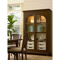 Paula Deen River House Paula's Best Dishes Pantry in River Bank - Stain/Brown