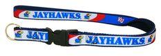 Kansas Jayhawks Lanyard Keychain - Royal