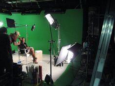 Ricki Lake on set at Loyal Studios