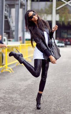 bag, fashion, girl, outfit, shoes love the jacket