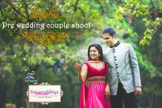 Our Pre Wedding Couple Shoot is a romantic photo-date that gives you a perfect chance to celebrate the choice you're making and remind yourselves of how much in love you are and why you've decided to marry each other.  Expect the unexpected moments in pre wedding couple  photo shoot  from StarWeddings !!   #StarWeddings We are the #Superstar in weddings
