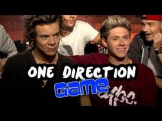 One Direction Raps - Most Likely To Game - This Is Us Junket Exclusive - YouTube