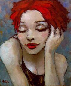 Tableau de Man Bellec, vu à Auray il y a plus de 10 ans et il est toujours dans un coin de ma tête...