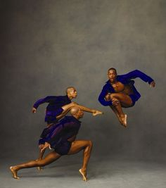 Antonio Douthit, Yannick Lebrun and Kirven James Boyd star in Alvin Ailey American Dance Theater in Chicago's Auditorium Theatre.