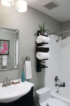 Bathroom Storage Idea I like the idea of putting fabric around the base of the sink