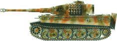 Pz. Rgt. Grossdeutschland, September 1944 camo pattern