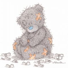 ʕ •́؈•̀ ₎♥                                                           Tatty Bear