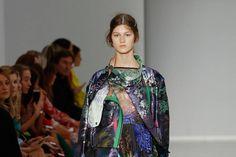 Marco de Vincenzo show at Milan Fashion Week.