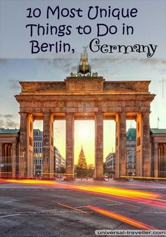 Find here the Ten most unique things to do in Berlin that you have to put on your bucket list when you visit Berlin. This Berlin guide provides travel tips on best berlin sightseeing, what to do in berlin, Berlin tourist attractions, places to visit in Berlin and Berlin points of interest.