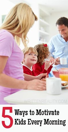 5 Ways to Motivate Your Kids Each Morning