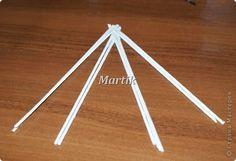 Мастер-класс Плетение МК Обьемная косичка Колосок из 8 трубочек Трубочки бумажные фото 2