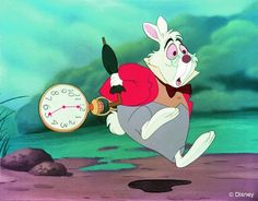 I think I'm going to end up getting a white rabbit tattoo because I am the white rabbit hahah.