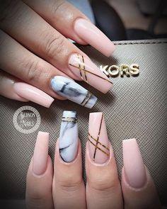 Nägel Ideen Nails ideas Nail Art Designs, Marble Nail Designs, Acrylic Nail Designs, Nails Design, Marble Acrylic Nails, Best Acrylic Nails, Acrylic Art, Water Nails, Coffin Nails Long