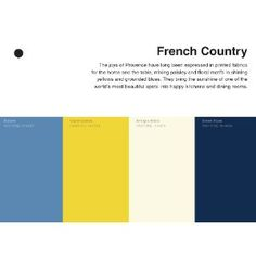 From Pantone: 35 Inspirational Color Palletes