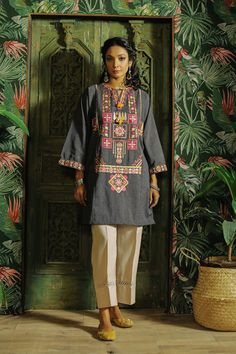 Rozana | ETHNIC Timeless Elegance, Top Sales, Winter Collection, Beautiful Dresses, Fitness Models, Kimono Top, Elegant, Shirts, Outfits