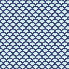 Suzy Woozy navy fabric by jillbyers on Spoonflower - custom fabric
