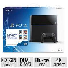PlayStation4 500GB Bundle - Four Games. One Pick - 3000767 d39d21dc2aff