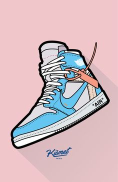 Off-White x Air Jordan 1 Wallpaper Supreme Iphone Wallpaper, Hype Wallpaper, Nike Wallpaper Iphone, Wallpaper Art, Sneakers Wallpaper, Shoes Wallpaper, Dope Cartoon Art, Dope Cartoons, Sneaker Posters