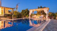 Villa Galini - Authentic Crete, Villas in Crete, Holiday Specialists Crete, Villas, Pergola, Bedrooms, Romantic, Outdoor Structures, Holiday, Design, Vacations