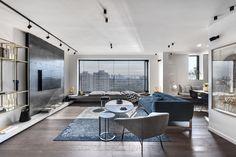 Apartment in Tel Aviv by Aviram Kushmirski « HomeAdore www.fiori.com.au modern apartment living ideas