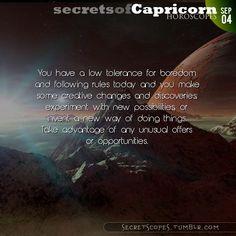 Capricorn Horoscope. Hey Capricorn, follow us for horoscopes every day!