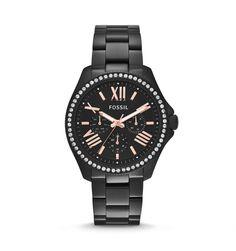 Achetez la montre Fossil Cecile AM4522 Femme avec meilleur prix sur la boutique en ligne yak.ma, livraison gratuite en moins de 48h et paiement à la livraison