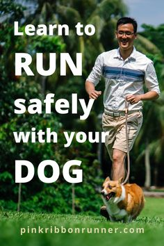 Running with your dog can be a happy, healthy & safe activity with this guide written by a veterinarian. Train your dog to run with you. Learn how on pinkribbonrunner .com Learn To Run, How To Start Running, Running Half Marathons, Summer Safety, Running For Beginners, Fitness Activities, Invisible Illness, Happy Healthy, Extreme Weather