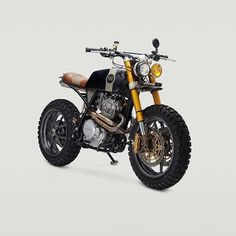 Honda XR650L bored out to 675 by @classifiedmoto. #Cafe racer #Tracker
