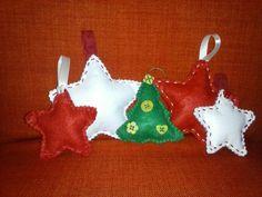 Decorazioni natalizie in feltro