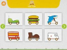 Erg leuke app voor kinderen: Labo car designer - ontwerp je eigen auto's, auto's, auto's en nog meer auto's!