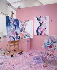 Figure Painting, Painting & Drawing, Painting Inspiration, Art Inspo, Creation Art, Exotic Art, A Level Art, Tea Art, Anatomy Art