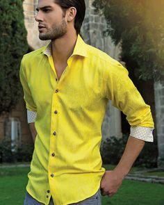 Jared lang shirts - Light blue designer shirt for men | Jared Lang ...